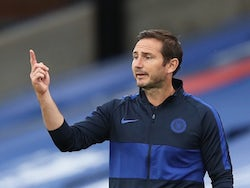 Chelsea manager Frank Lampard pictured on July 7, 2020