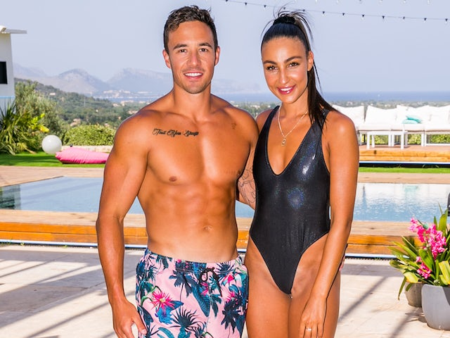 Grant Crapp and Tayla Damir on Love Island Australia