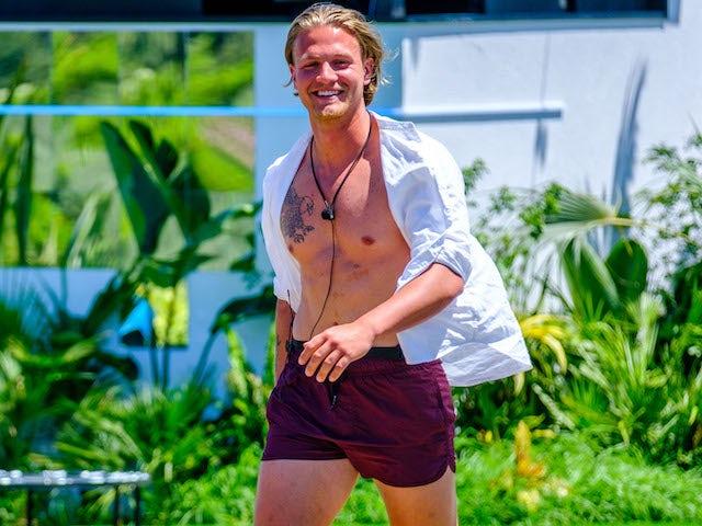 Jaxon Human on Love Island Australia