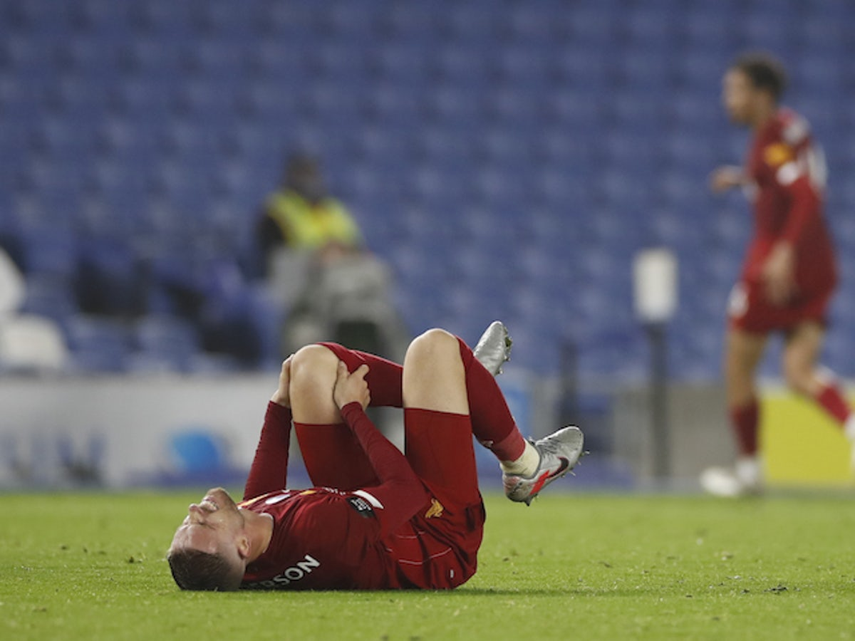 Liverpool midfielder Jordan Henderson 'could miss start of next ...