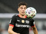 Bayer Leverkusen playmaker Kai Havertz pictured on July 4, 2020