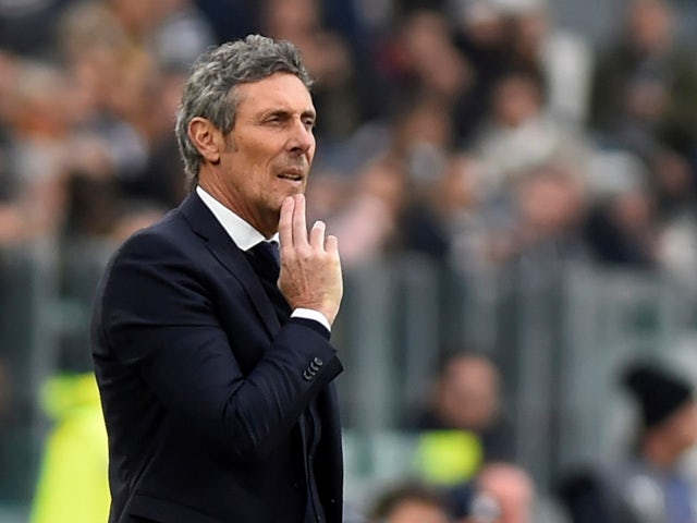 Udinese boss Luca Gotti in November 2019.