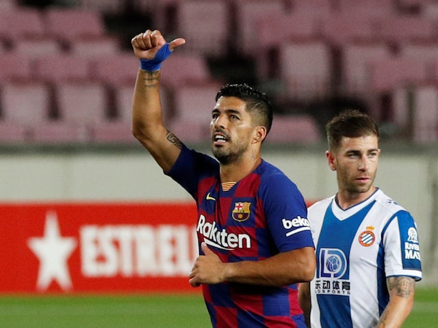 Juventus rule out summer move for Luis Suarez