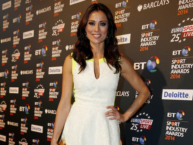 Melanie Sykes pictured in May 2014