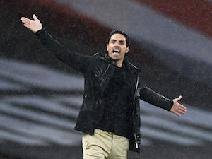 "Mikel Arteta hints at changes for Liverpool clash after ""crazy minutes"""