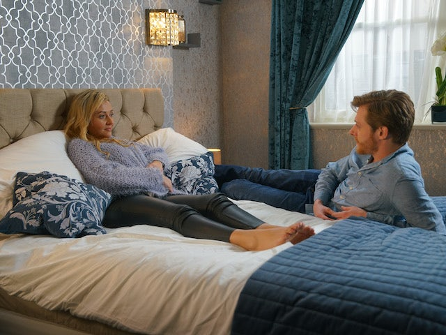 Daniel and Nicky on Coronation Street on July 22, 2020