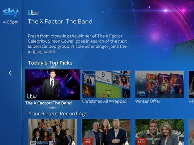 Sky unveils new features for SkyQ, Disney+