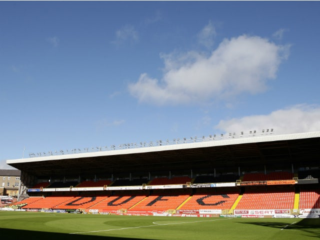 Tannadice Park, the home of Dundee United