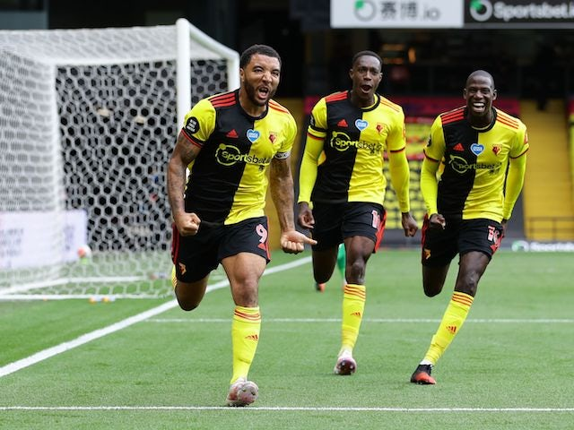 Result: Deeney hits brace as Watford boost survival bid with win over Newcastle