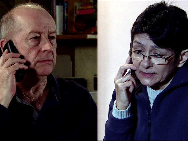 Yasmeen calls Geoff from in prison on Coronation Street on July 17, 2020