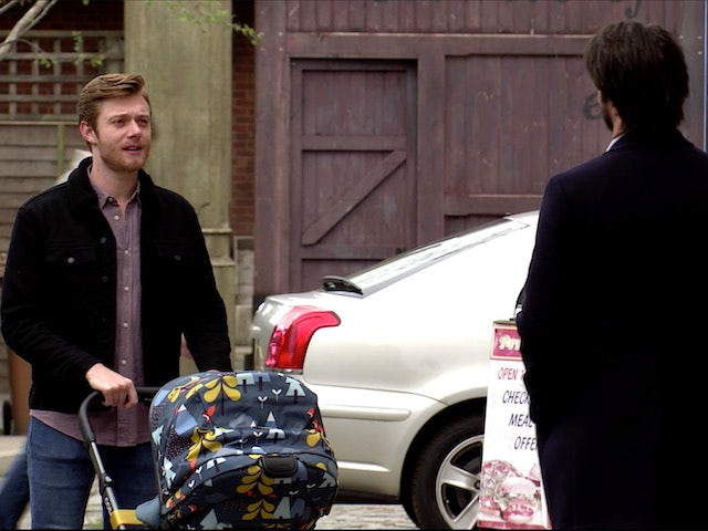 Daniel meets Adam on Coronation Street on July 15, 2020