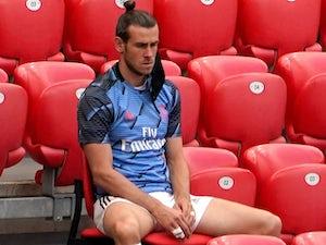 Gareth Bale rocking a topknot on July 5, 2020