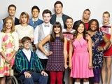 The original cast of Glee