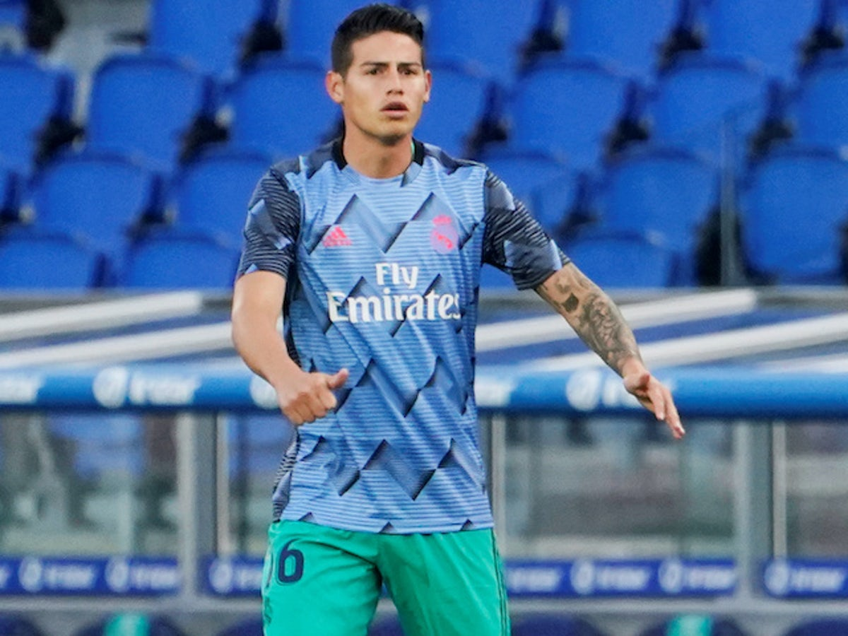 Real Madrid Outcast James Rodriguez To Undergo Everton Medical This Week Sports Mole