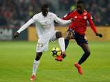 Nice's Malang Sarr in action against Lille in February 2019