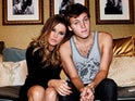 Lisa Marie Presley with her son Benjamin Keough