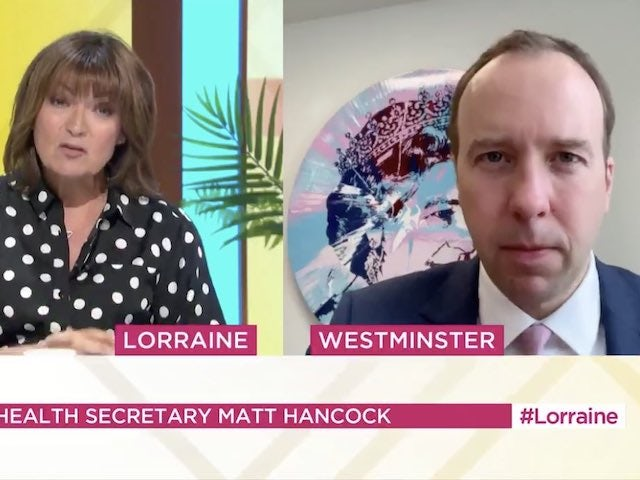 Lorraine Kelly grills Matt Hancock over Good Morning Britain boycott