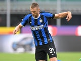 Milan Skriniar in action for Inter Milan on June 24, 2020