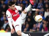 Nicolas Tagliafico in action for Ajax on February 20, 2020