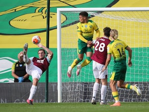 Burnley ease past nine-man Norwich to keep European hopes alive