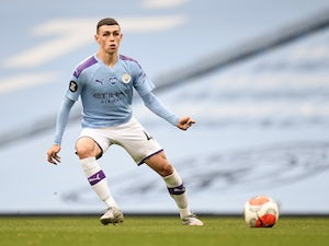 "Pep Guardiola talks up ""incredible"" Phil Foden"