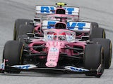 Racing Point's Sergio Perez during the Styrian Grand Prix on July 12, 2020