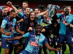 Result: Wycombe secure promotion to second tier for first time in their history