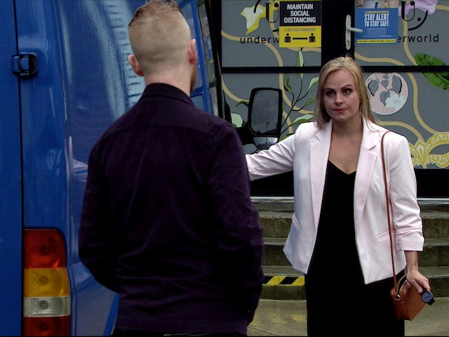 Sarah confronts Gary on Coronation Street on July 29, 2020