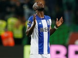 Danilo Pereira in action for Porto on January 5, 2020