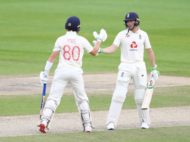 Ollie Pope, Jos Buttler put England back in command against West Indies