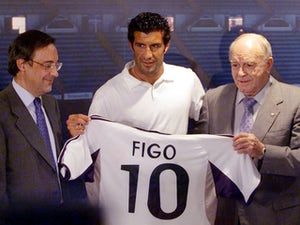 On this day: Luis Figo joins Real Madrid from Barcelona in world-record transfer