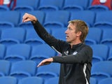 Brighton boss Graham Potter on July 20, 2020