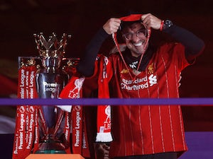 "Jurgen Klopp revels in ""special"" night as Liverpool lift Premier League trophy"