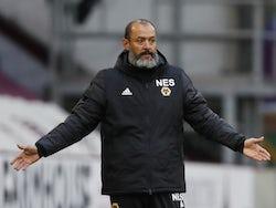 Wolverhampton Wanderers manager Nuno Espirito Santo pictured in July 2020
