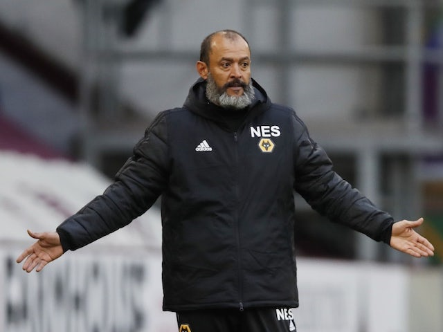 Wolverhampton Wanderers manager Nuno Espirito Santo pictured in July 2020