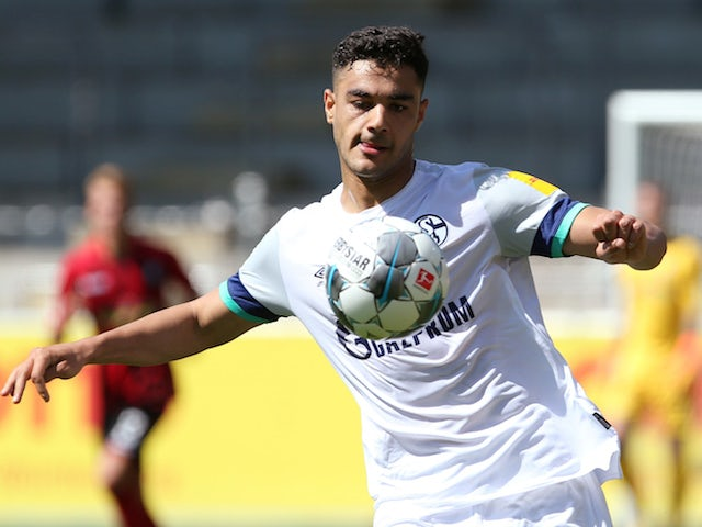 Schalke 04's Ozan Kabak pictured in action in June 2020