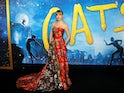 Taylor Swift proudly arrives at the premiere of Cats in December 2019