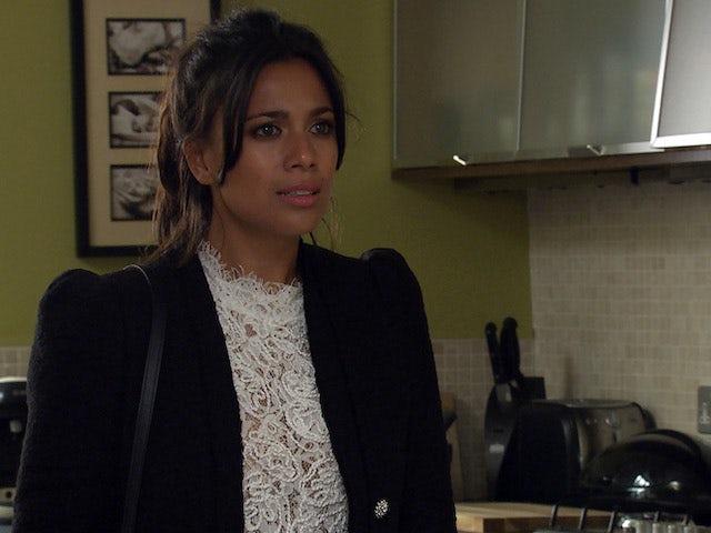 Priya on Emmerdale on August 3, 2020