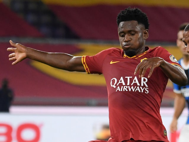 Roma midfielder Amadou Diawara pictured in July 2019