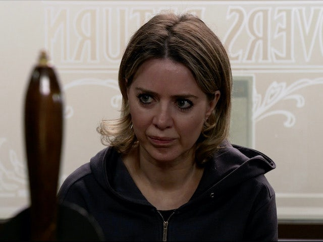Abi is unimpressed on Coronation Street on August 3, 2020