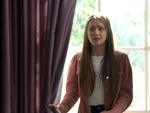 Sarah apologises on Emmerdale on July 31, 2020