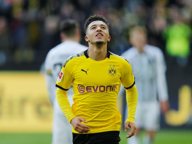 Dortmund chief plays down Sancho, Man Utd talk