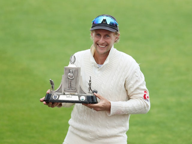 Joe Root hits century as England strengthen grip on first Test