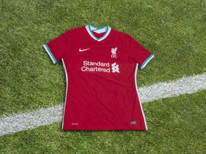 Liverpool unveil official 2020-21 home kit