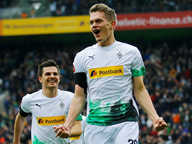 Matthias Ginter in action for Gladbach on February 22, 2020