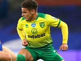 Max Aarons in action for Norwich City on July 16, 2020