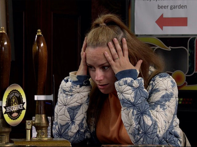Gemma puts her foot in it on Coronation Street on August 3, 2020