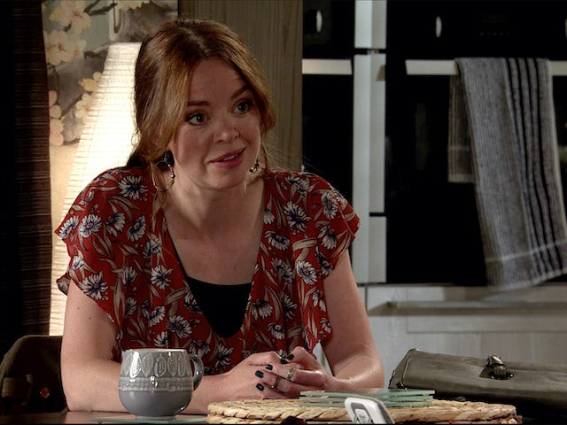 Toyah on Coronation Street on August 7, 2020