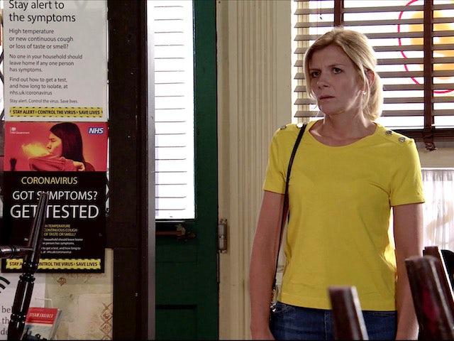 Leanne on Coronation Street on August 12, 2020