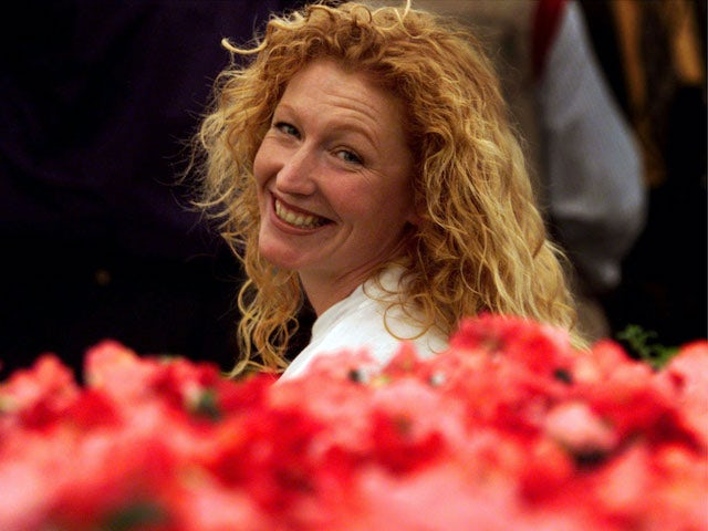 Charlie Dimmock pictured in her May 1999 pomp